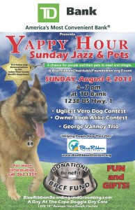 Yappy Hour Sunday Jazz and Pets